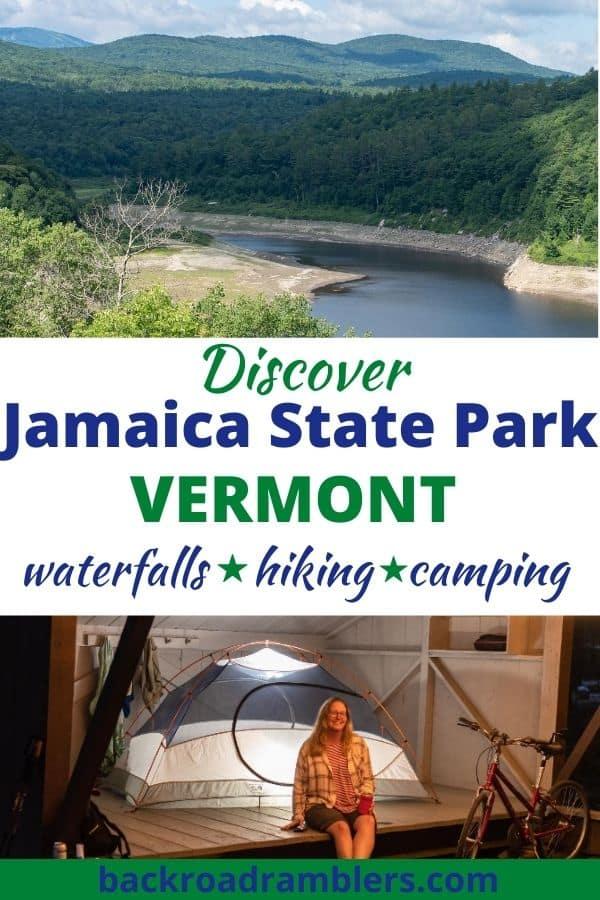 Summer landscapes Jamaica State Park Vermont