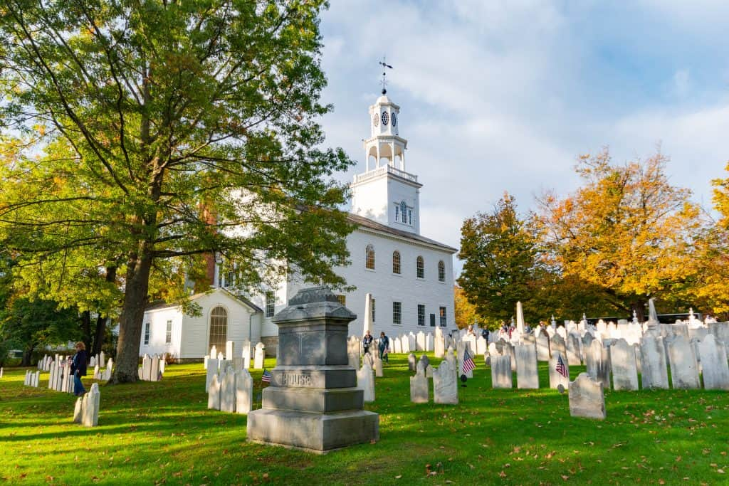 The Old First Church in Bennington, VT
