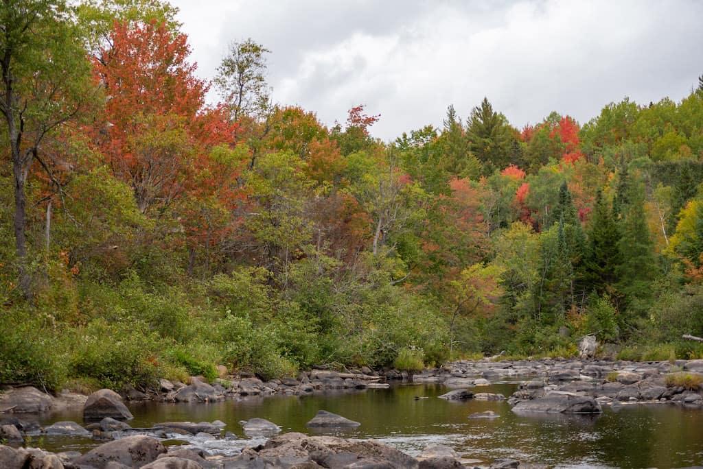 The Nulhegan River near Island Pond, VT