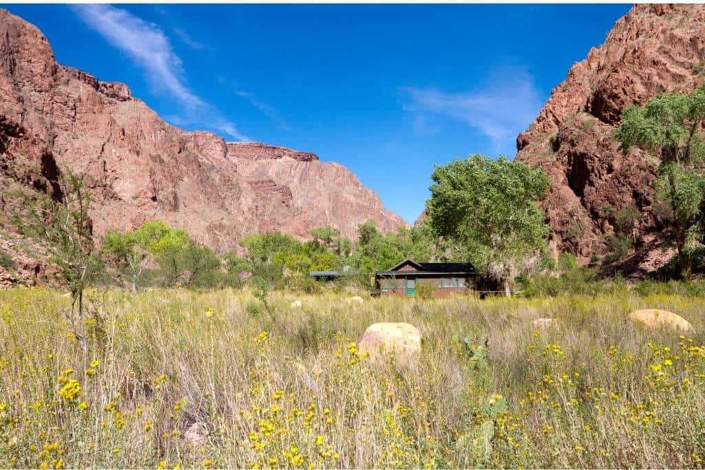 Pantom Ranch lodging in the Grand Canyon