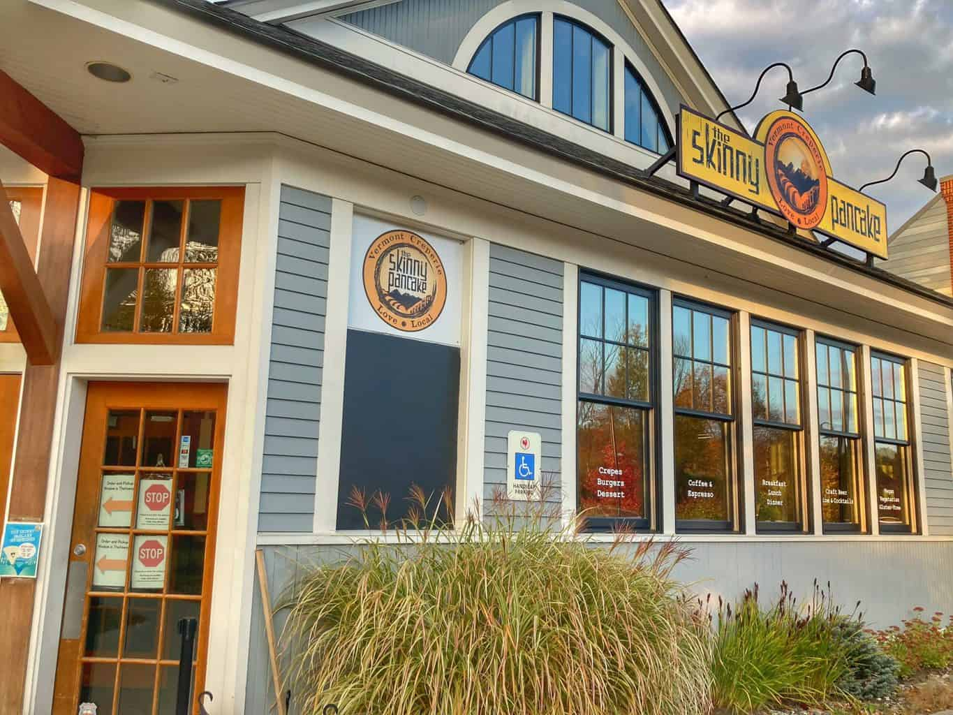 The Skinny Pancake in Quechee, Vermont