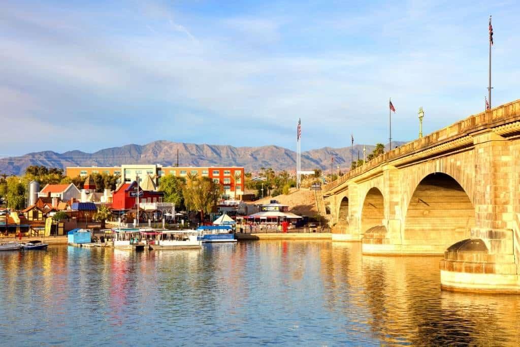 The London Bridge in Lake Havasu City, Arizona