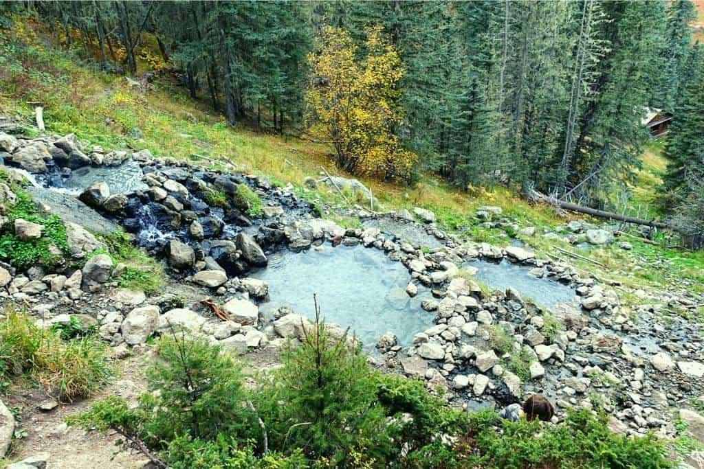 San Antonio Hot Springs - natural hot springs in New Mexico near Jemez Springs
