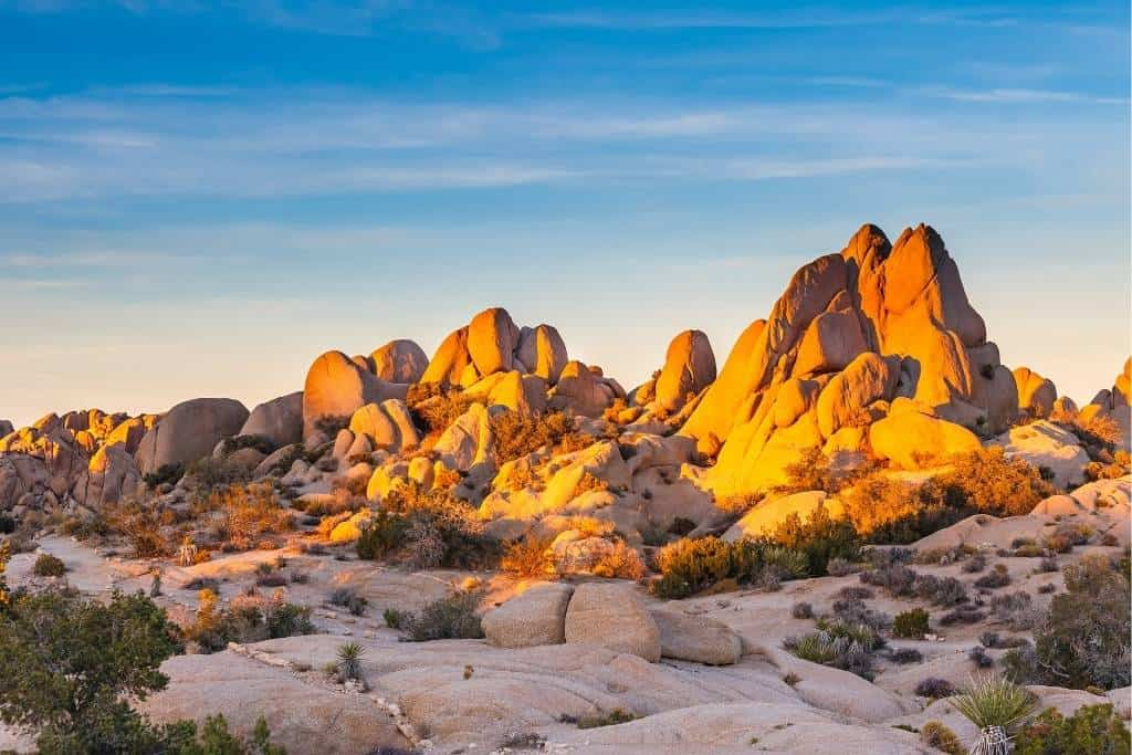 Boulders in Joshua Tree National Park