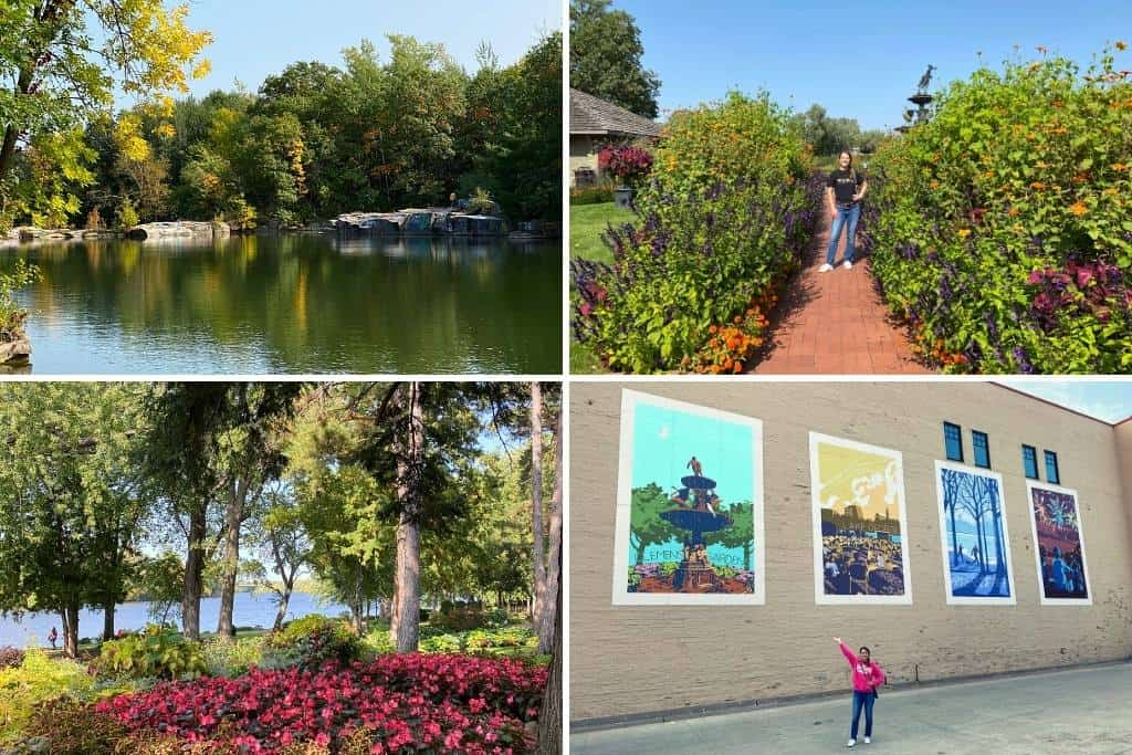 a collage featuring the best things to do in St. Cloud MN