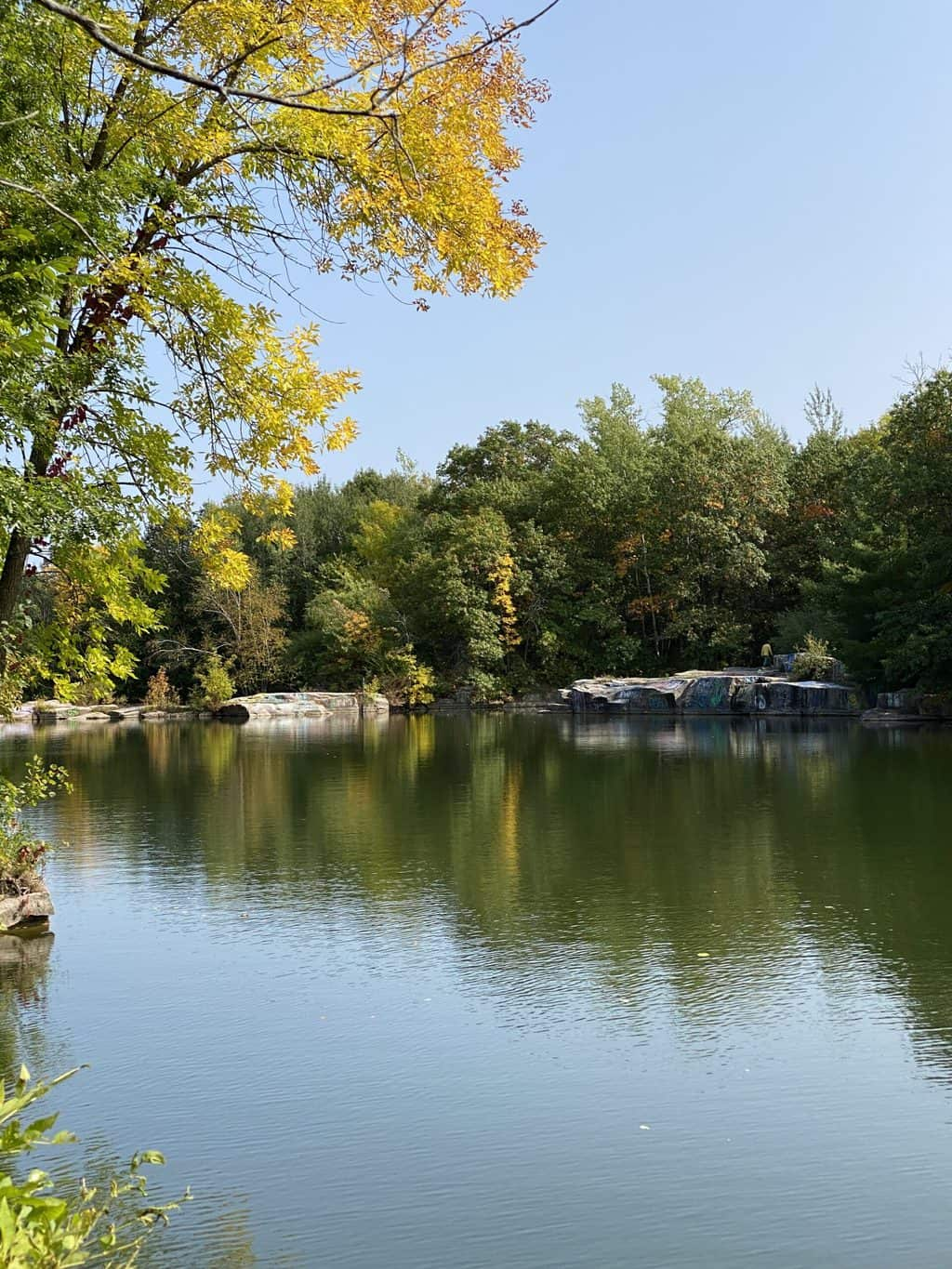 One of the old quarries near St. Cloud MN
