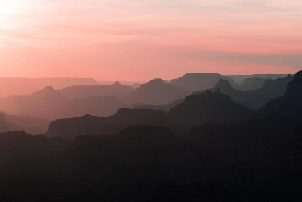 sunset at Lipan Point in Grand Canyon National Park