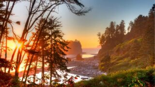 Ruby Beach in Olympic National Park, Washington