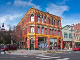 Downtown Port Townsend, Washington