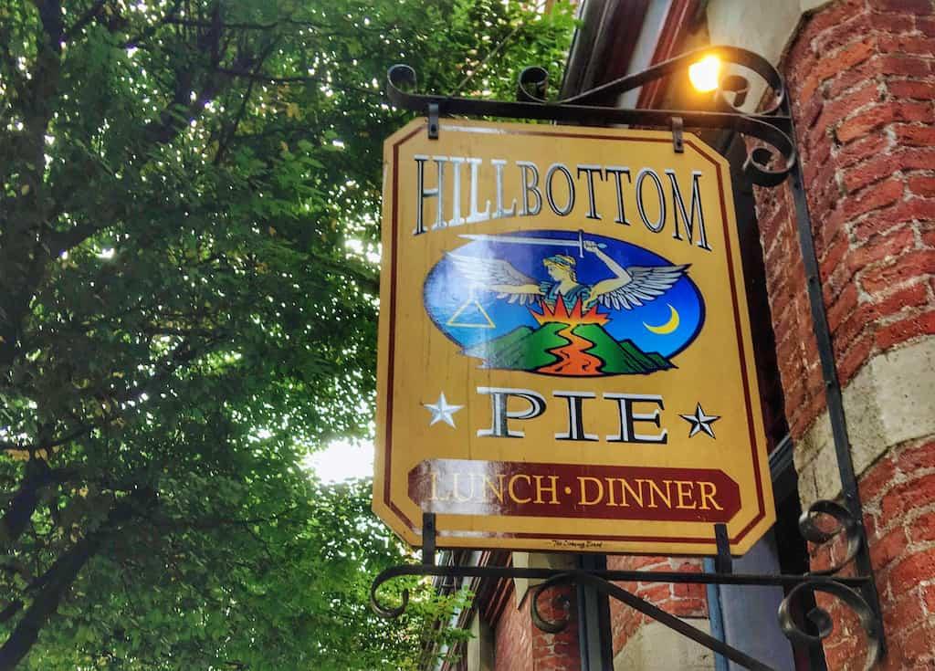Hillbottom Pie in Port Townsend, Washington.