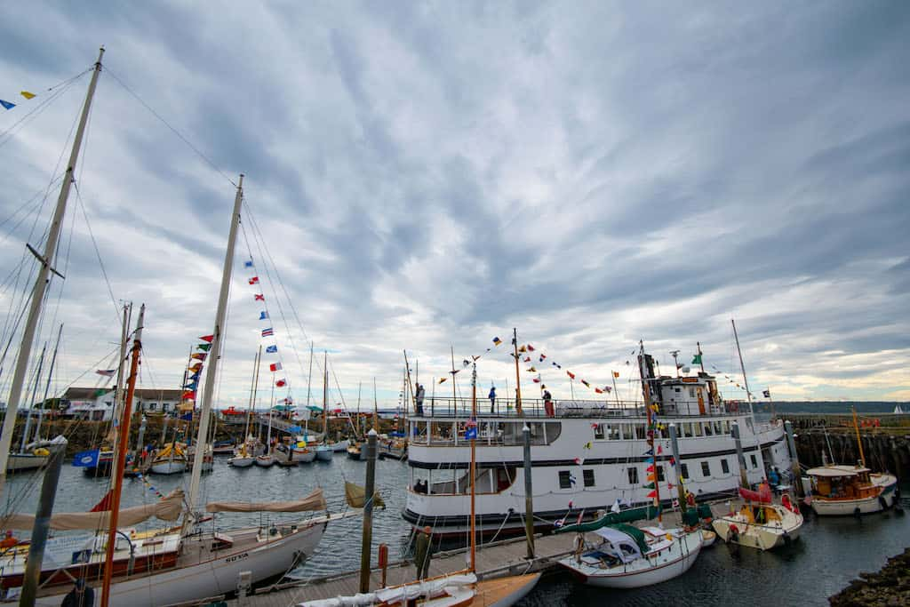 The Wooden Boat Festival in Port Townsend, Washington