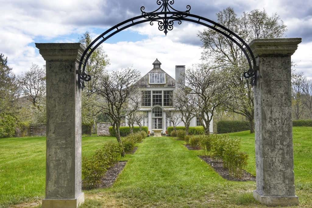Chesterwood gardens in Stockbridge, MA.