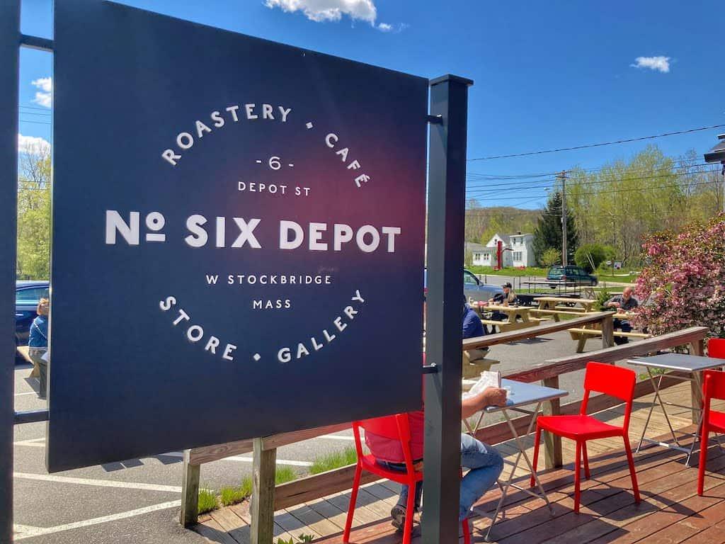 Six Depot Coffee in West Stockbridge, MA.