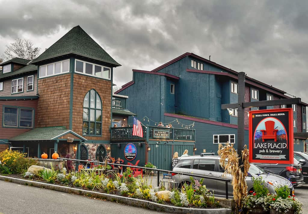 Lake Placid Brewing Company in New York.